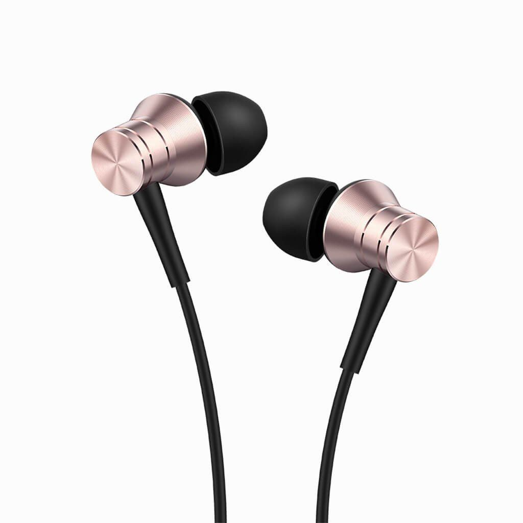 1More Piston Fit Pink In-ear Headphones (Περίβλημα από κράμα αλουμινίου και καλώδιο με πυρήνα Kevlar)