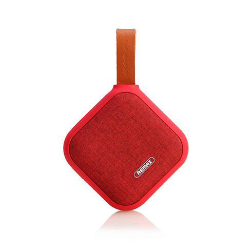 Remax RB-M15 Red Fashion Fabric Bluetooth Speaker + Speakerphone + microSD Slot + NFC + IPX5