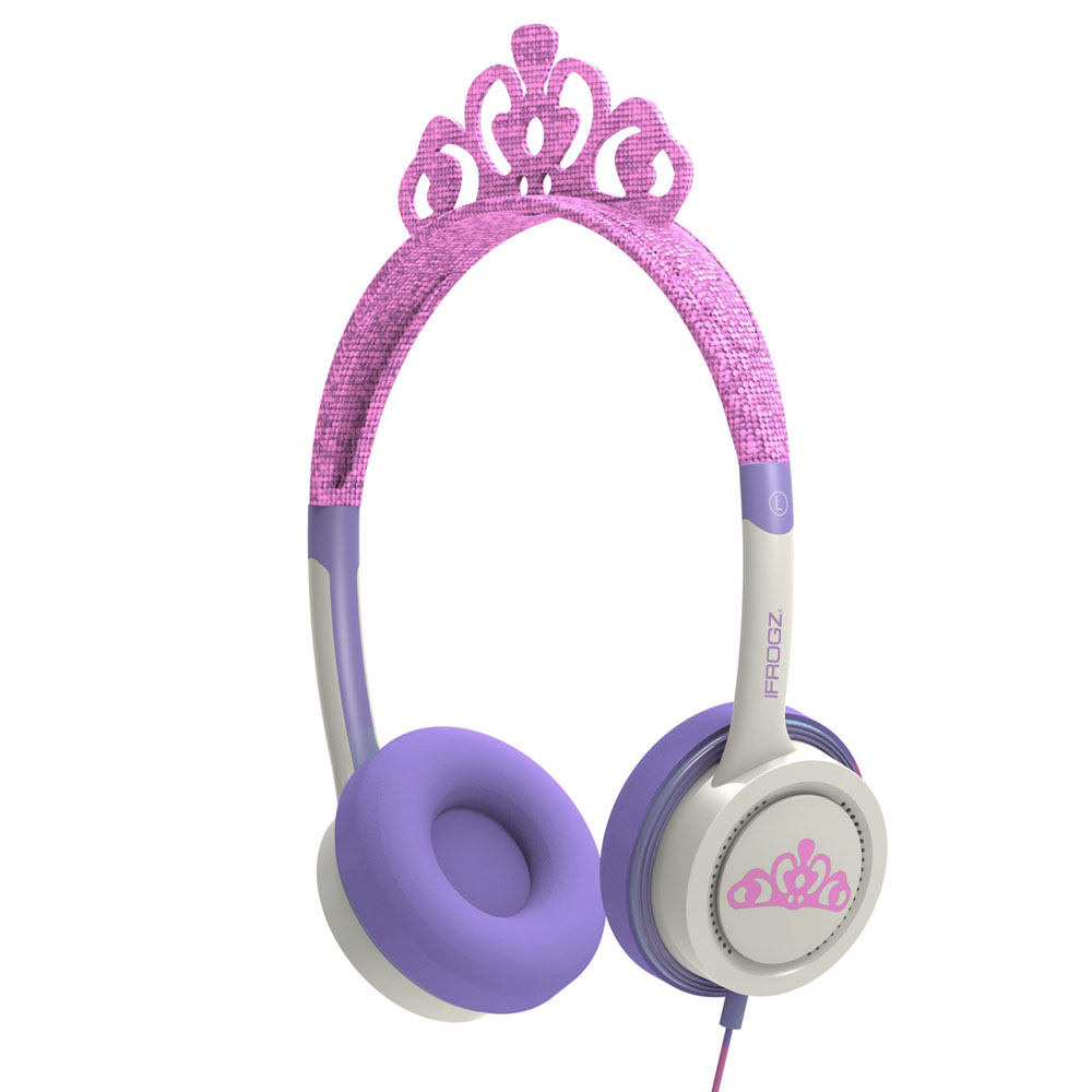 iFrogz by ZAGG Little Rockerz Costume Headphones Tiara: Kid-Friendly Volume Limiting Headphones | Dress up Your Kids' Music!