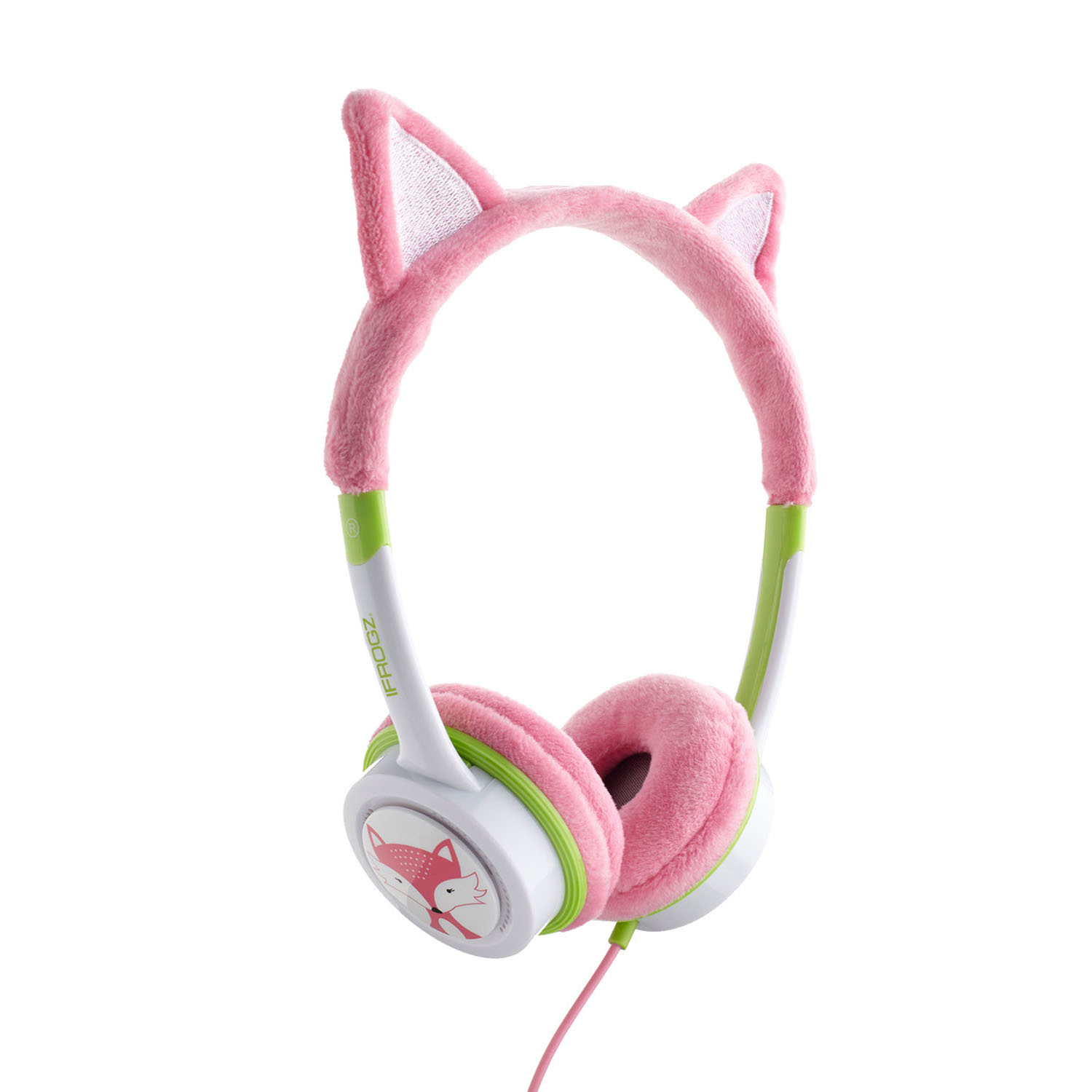 iFrogz by ZAGG Little Rockerz Costume Headphones Kitten: Kid-Friendly Volume Limiting Headphones | Dress up Your Kids' Music!