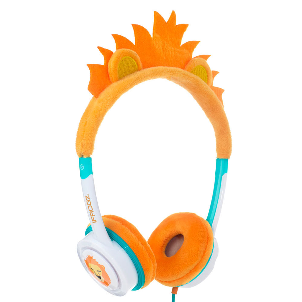 iFrogz by ZAGG Little Rockerz Costume Headphones Lion: Kid-Friendly Volume Limiting Headphones | Dress up Your Kids' Music!