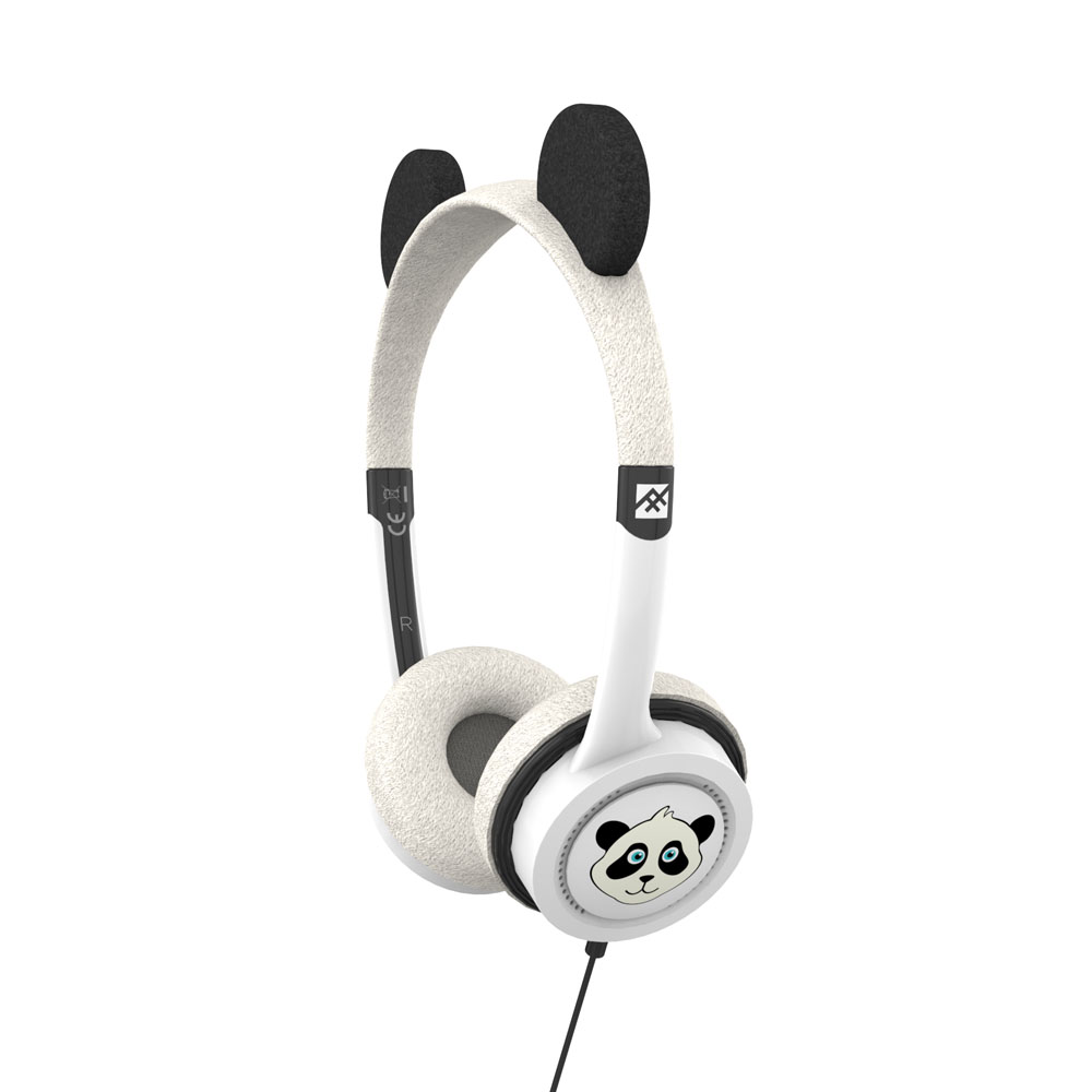 iFrogz by ZAGG Little Rockerz Costume Headphones Panda: Kid-Friendly Volume Limiting Headphones