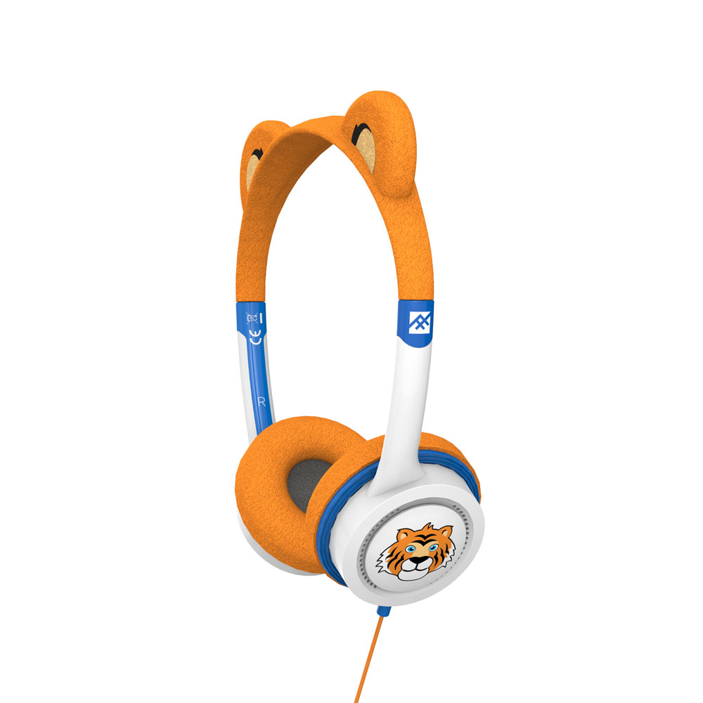 iFrogz by ZAGG Little Rockerz Costume Headphones Tiger: Kid-Friendly Volume Limiting Headphones