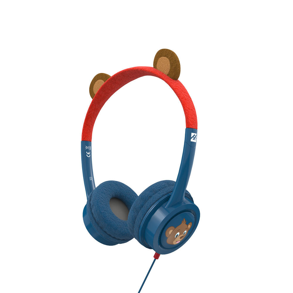 iFrogz by ZAGG Little Rockerz Costume Headphones Bear: Kid-Friendly Volume Limiting Headphones