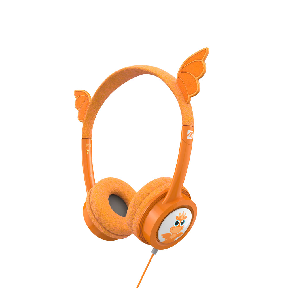 iFrogz by ZAGG Little Rockerz Costume Headphones Dragon: Kid-Friendly Volume Limiting Headphones