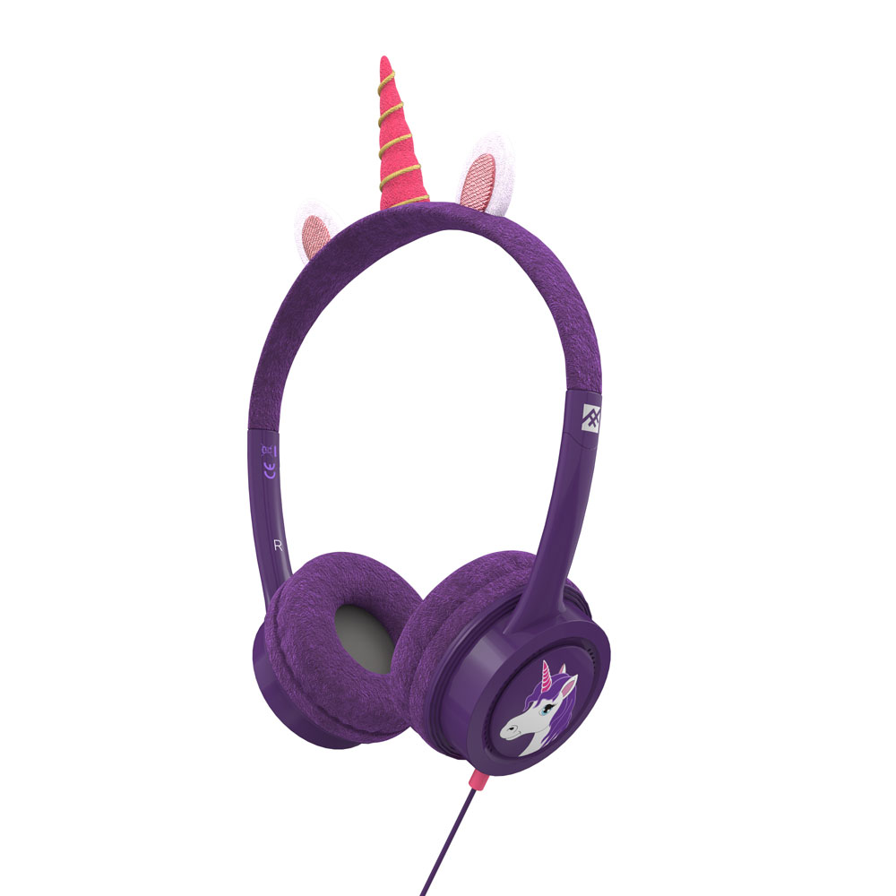iFrogz by ZAGG Little Rockerz Costume Headphones Unicorn: Kid-Friendly Volume Limiting Headphones