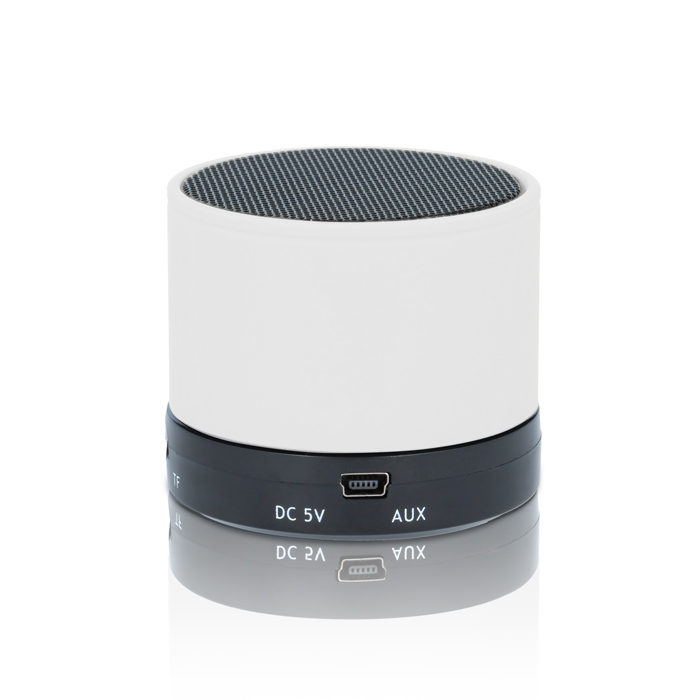 Forever BS-100 White Multimedia Bluetooth Speaker & Hands-free + microSD + Line-In (XS μέγεθος για να το έχετε μαζί σας παντού!)
