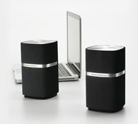 B&W Bowers & Wilkins MM-1 Fully Active 2.0 Multimedia Speaker System
