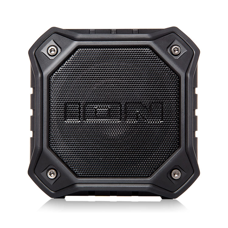 ION Dunk Black IPX7 Waterproof Bluetooth Speaker & Hands-Free