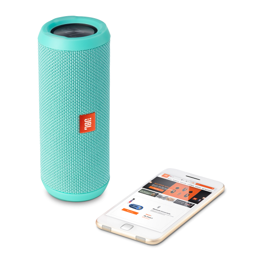 JBL Flip 3 Teal Portable Bluetooth Speaker & Handsfree + Line-in (Ηχείο & Ανοιχτή συνομιλία για κλήσεις + Splashproof)