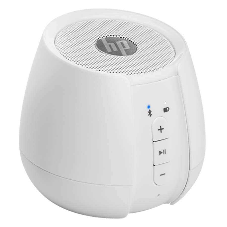 HP S6500 White Wireless Mini Speaker N5G10AA + Aux-In + 2W RMS + 10 Hours Playtime