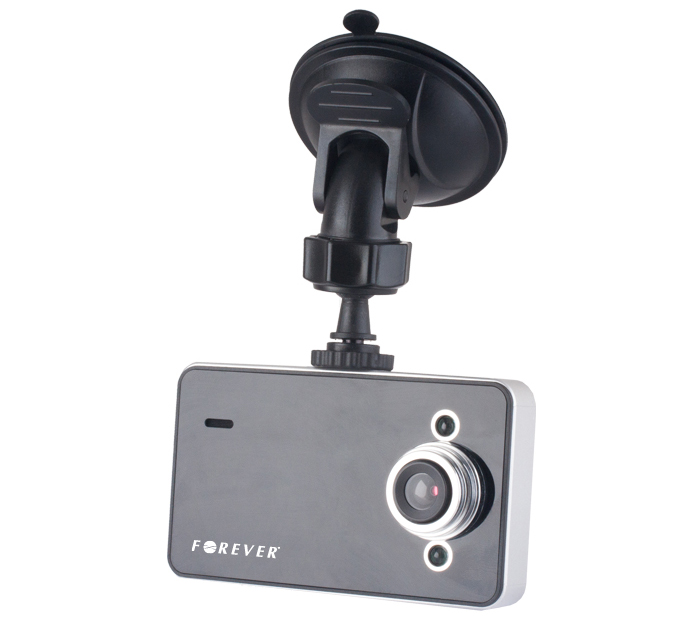 "Forever VR-110 Car Video Recorder: DVR Camera Αυτοκινήτου με HD 720p Recording + Οθόνη 2.4"" + G-sensor + Night Vision LED"