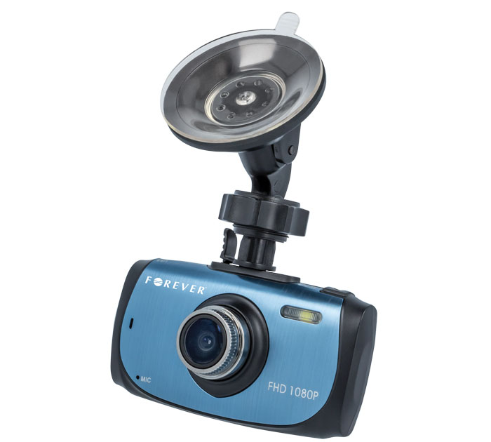 "Forever VR-320 Car Video Recorder: DVR Camera Αυτοκινήτου με Full HD 1080p Recording + Οθόνη 2.7"" + G-sensor + Night Vision LED"