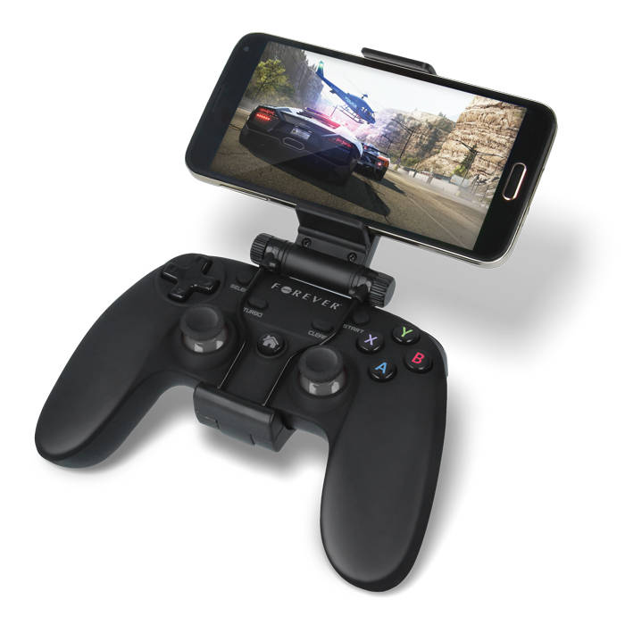 Forever GP-100 Universal Bluetooth Gamepad με Δόνηση για Android, PC, Notebook & PS3