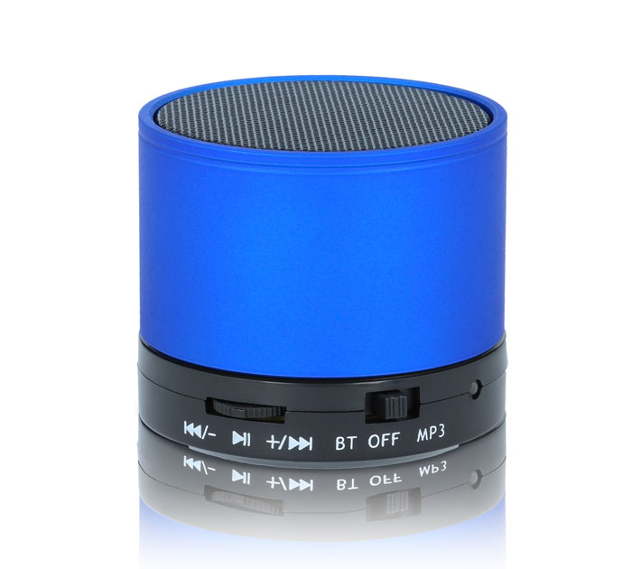 Forever BS-100 Blue Multimedia Bluetooth Speaker & Hands-free + microSD + Line-In (XS μέγεθος για να το έχετε μαζί σας παντού!)