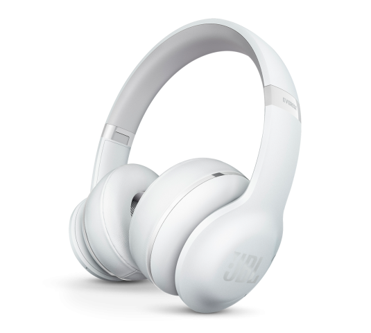 JBL Everest 300 BT White: On-ear Bluetooth JBL Pro Audio Sound Headphones + Wireless ShareMe (Ακουστικά για κλήσεις & μουσική)