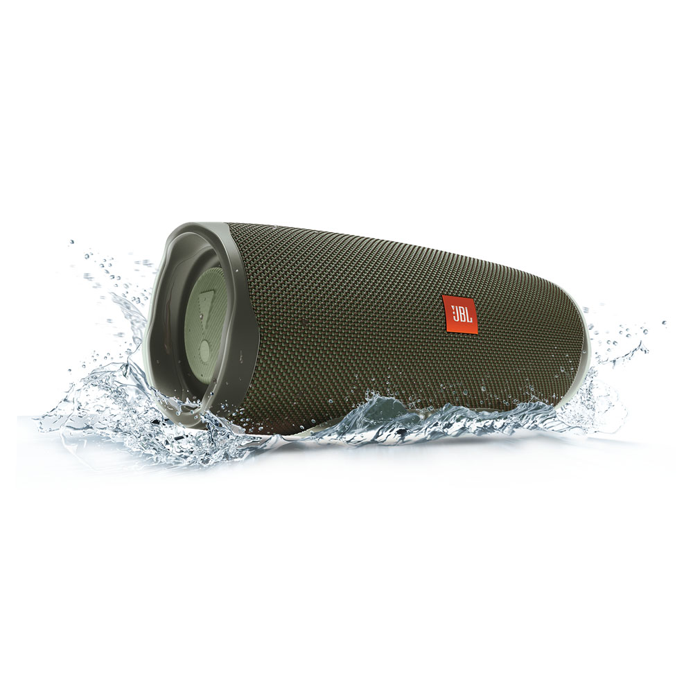 JBL Charge 4 Forest Green Waterproof IPX7 Bluetooth Speaker & PowerBank