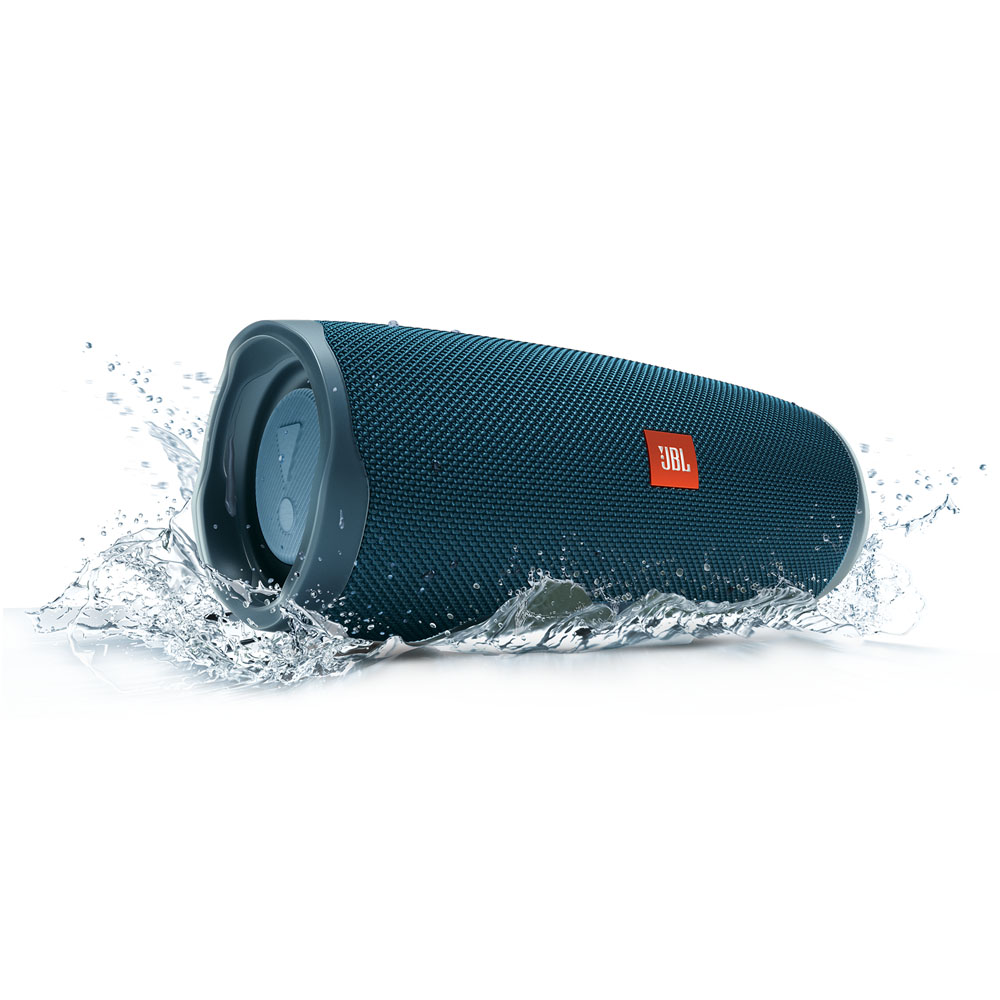 JBL Charge 4 Blue Waterproof IPX7 Bluetooth Speaker & PowerBank
