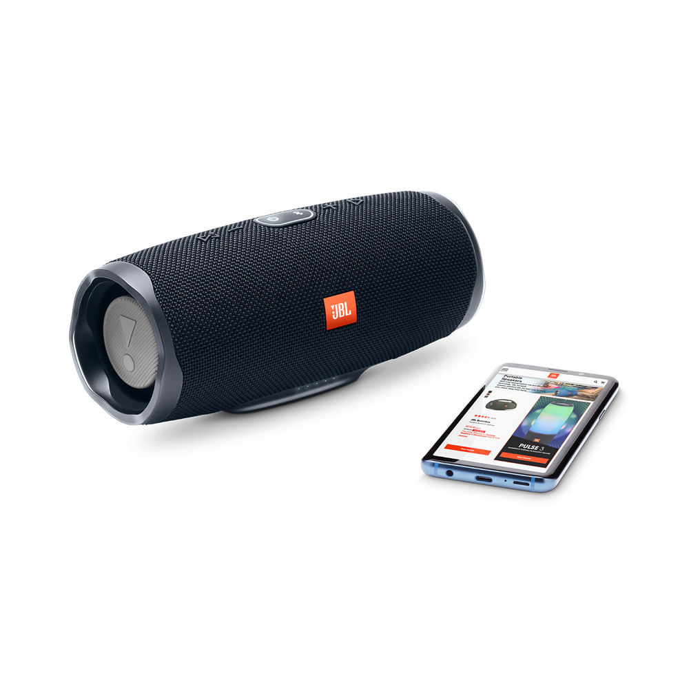 JBL Charge 4 Black Waterproof IPX7 Bluetooth Speaker & PowerBank