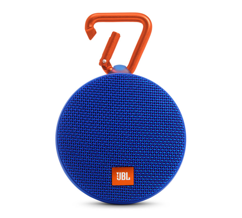 JBL Clip 2 Blue Waterproof IPX7 Ultra Portable Bluetooth Speaker & Handsfree (Ηχείο & Ανοιχτή συνομιλία + Γάντζος)