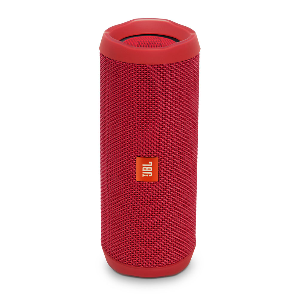 JBL Flip 4 Red Portable Bluetooth Speaker & Handsfree + Line-in (Ηχείο & Ανοιχτή συνομιλία για κλήσεις + IPX7 Waterproof)