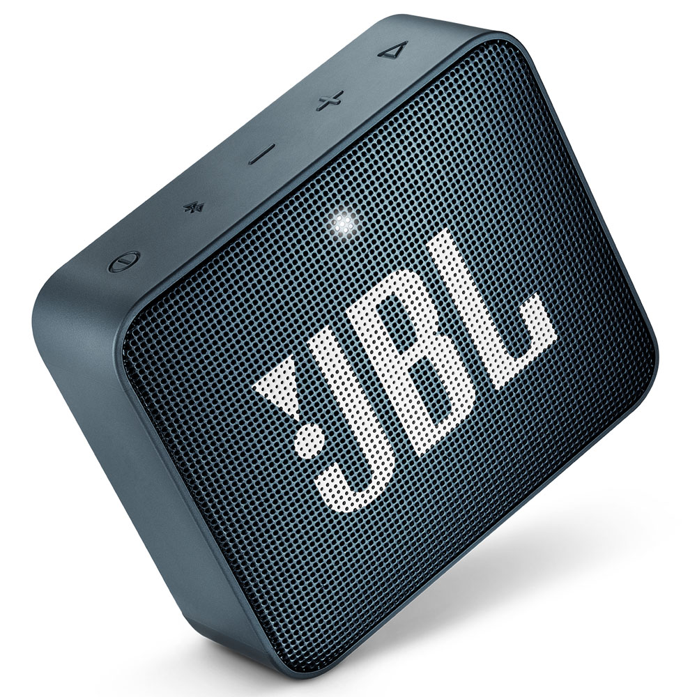 JBL GO 2 Slate Navy Portable Bluetooth Speaker & Handsfree + Line-in + Waterproof (Ηχείο & Ανοιχτή συνομιλία για κλήσεις)
