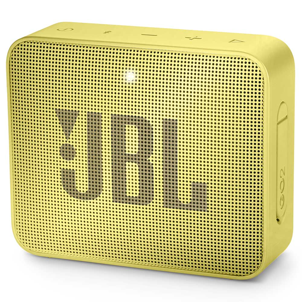 JBL GO 2 Sunny Yellow Portable Bluetooth Speaker & Handsfree + Line-in + Waterproof (Ηχείο & Ανοιχτή συνομιλία για κλήσεις)