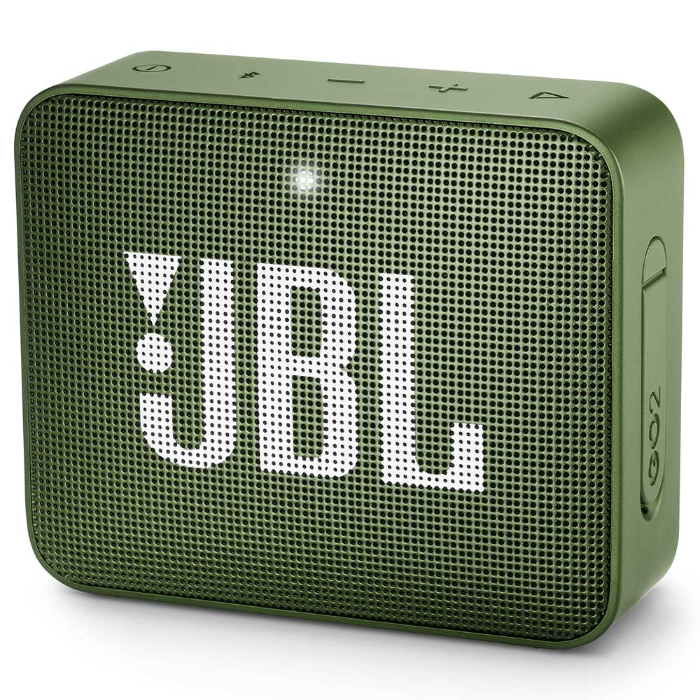 JBL GO 2 Moss Green Portable Bluetooth Speaker & Handsfree + Line-in + Waterproof-Ηχείο & Ανοιχτή συνομιλία για κλήσεις
