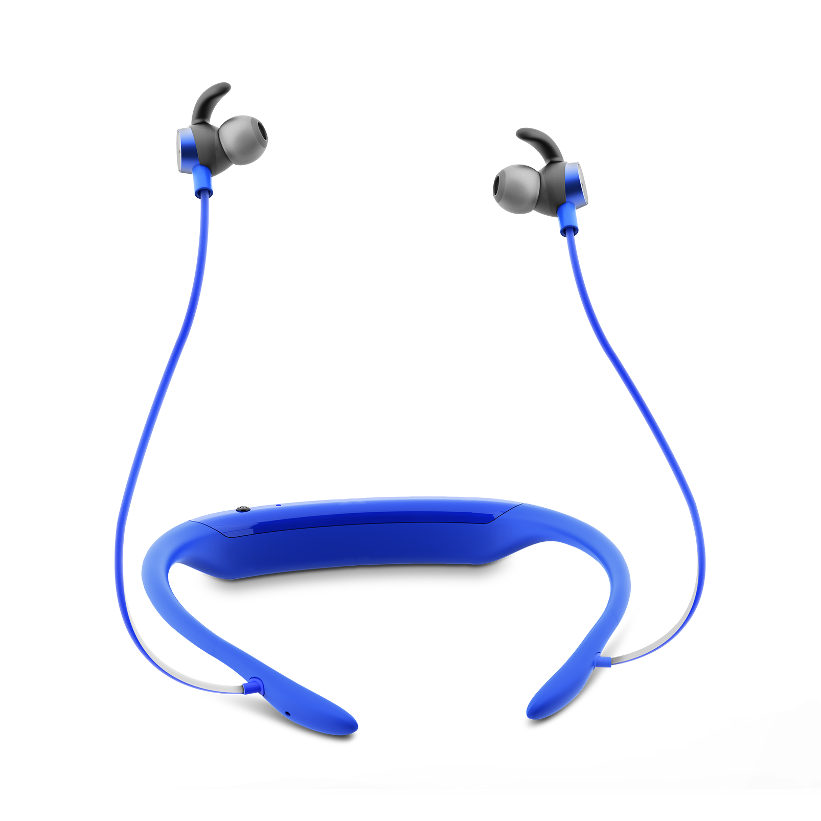 JBL Reflect Response BT Blue: In-ear Bluetooth Gesture Control Sport Earphones
