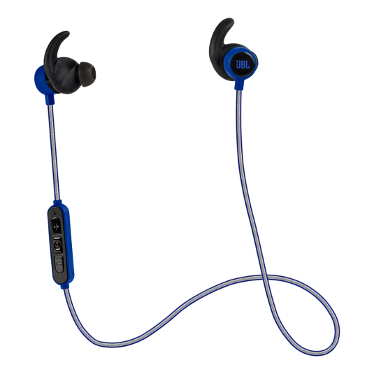 JBL Reflect Mini BT Blue: In-ear Bluetooth Sport Headphones  (Android/iOS/Universal)