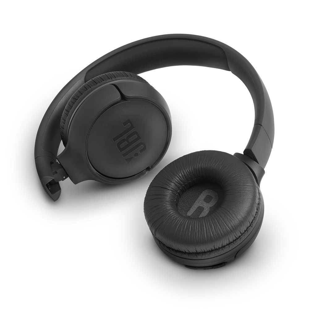 JBL Tune 500BT Black Wireless On-Ear Headphones + Pure Bass Sound + Mic/Remote (κλήσεις & μουσική χωρίς καλώδια)