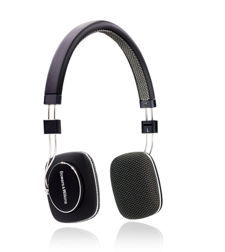 B&W Bowers & Wilkins P3 Black Hi-Fi Foldable Headphones