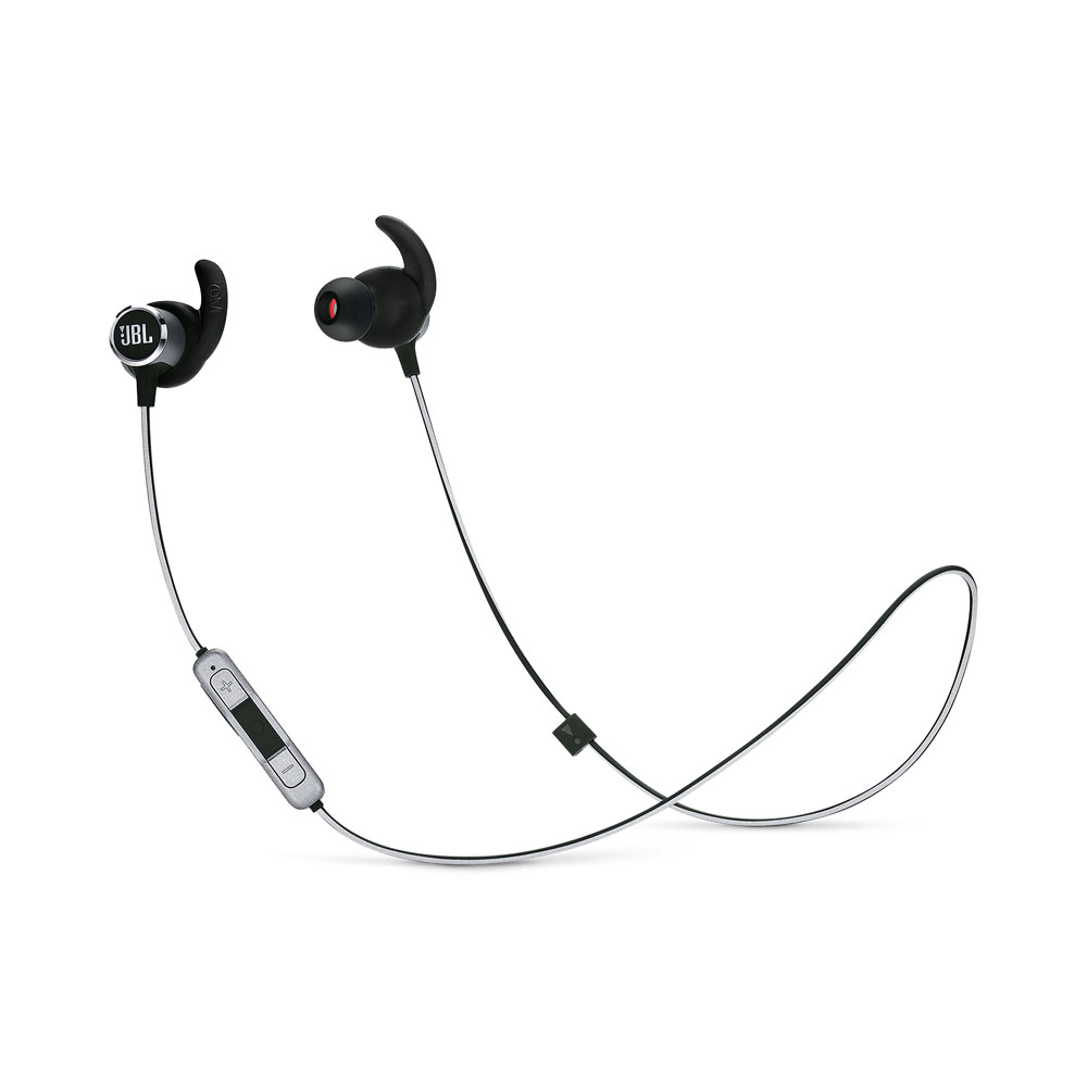 JBL Reflect Mini 2 Black: Lightweight & Sweat Proof Wireless Sport Headphones + JBL Signature Sound