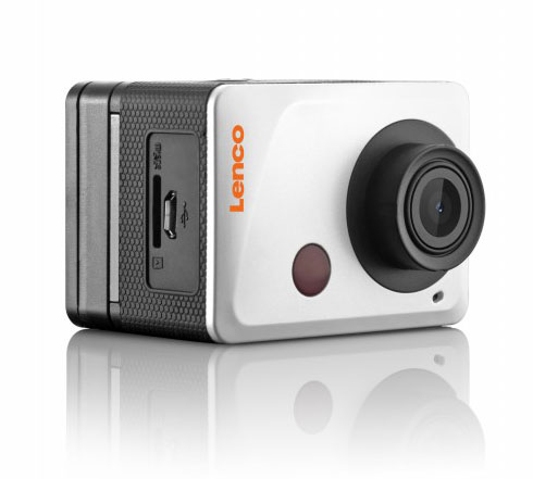 "Lenco SPORTCAM-500 Full HD Wi-Fi Action Camera: Αδιάβροχο κέλυφος + Wi-Fi + 1.8"" LCD + HDMI + Android & iOS App"
