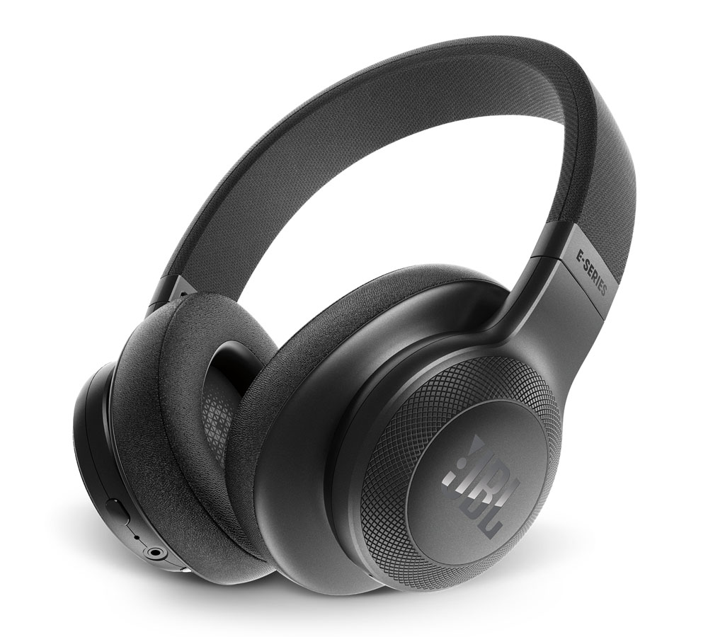 JBL E55BT Black On-Ear Bluetooth Headphones + Signature Sound + Mic/Remote + 50mm Driver + Αυτονομία 20 ωρών