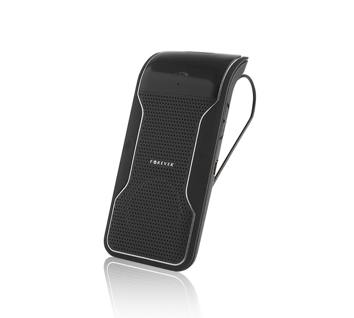 Forever BK-100 Bluetooth Speakerphone HandsFree Car Kit (Multipoint + DSP + Κλιπ)