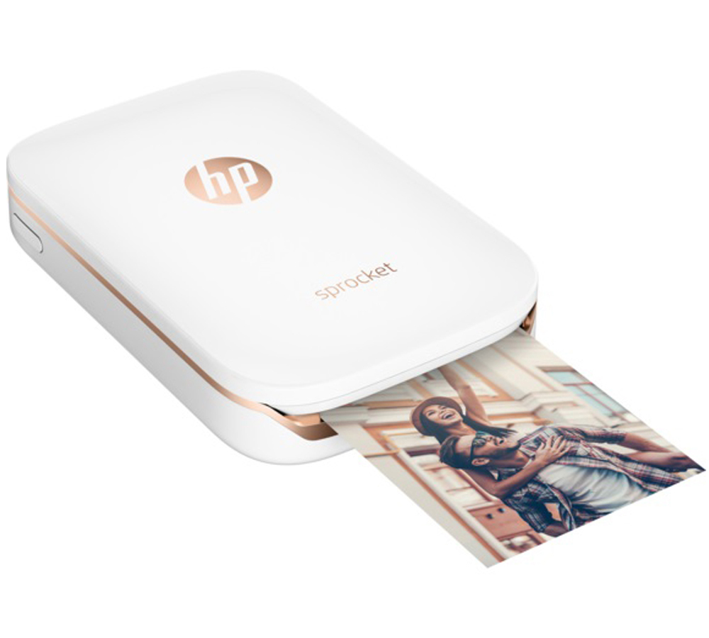 HP Sprocket Photo Printer (Z3Z91A) | Φορητός Ασύρματος Εκτυπωτής | Live it. Love it. Print it.