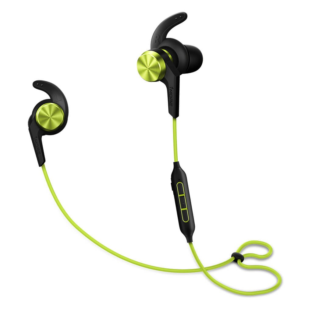 1More iBFree Green Bluetooth In-ear Headphones + 3-Button Remote + AptX Τεχνολογία + Water/Sweat Resistant IPX4