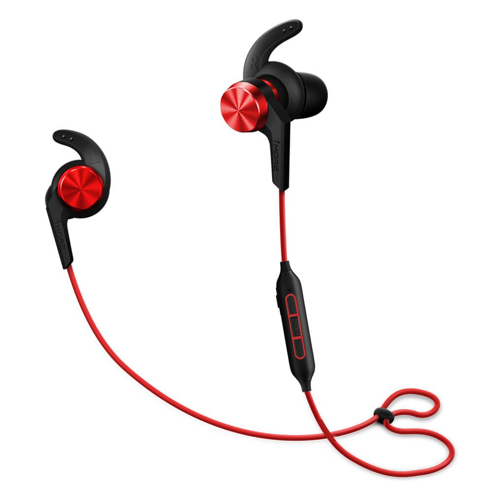 1More iBFree Red Bluetooth In-ear Headphones + 3-Button Remote + AptX Τεχνολογία + Water/Sweat Resistant IPX4