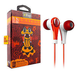 iFrogz Animatone Earbuds Fred the Snake (Ακουστικά ειδικά σχεδιασμένα για παιδιά με μέγιστο έντασης) m0511