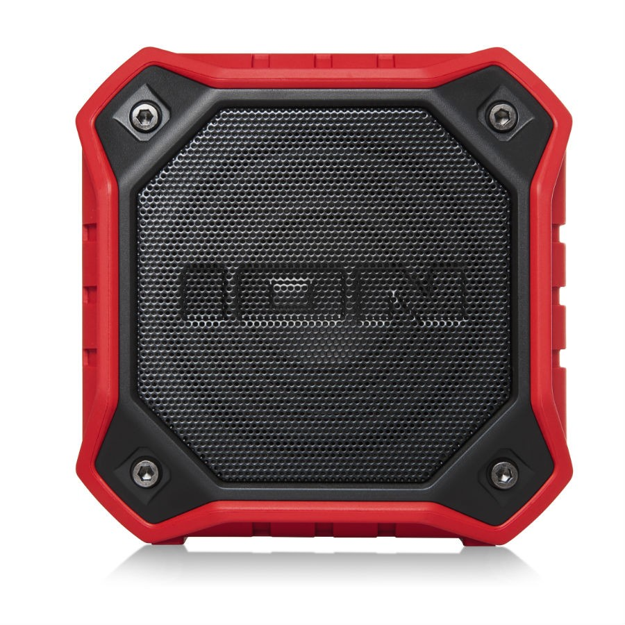 ION Dunk Red IPX7 Waterproof Bluetooth Speaker & Hands-Free
