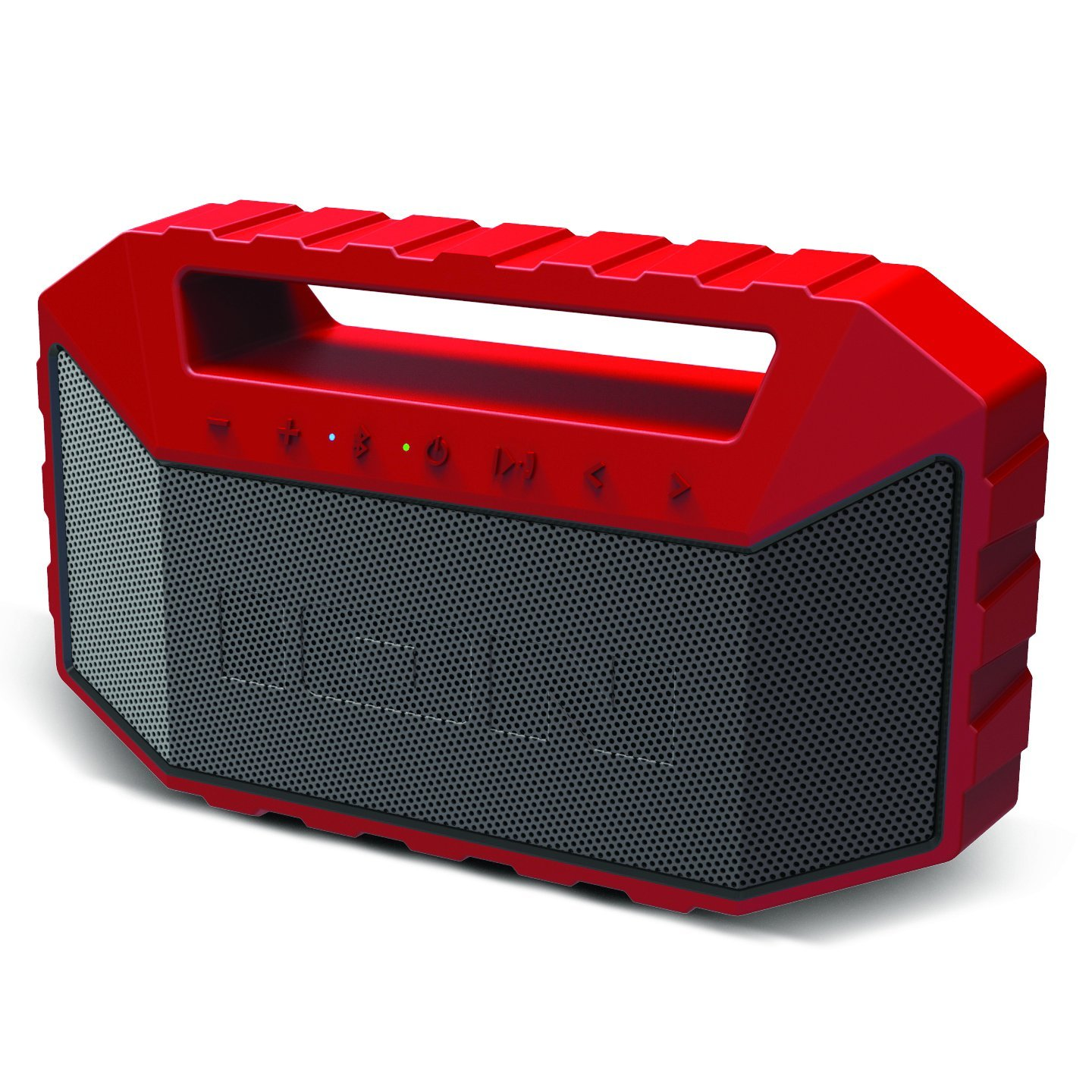 ION Plunge Red IPX7 Waterproof Stereo Boombox + 20W + 20 ώρες αυτονομία + Hands-Free