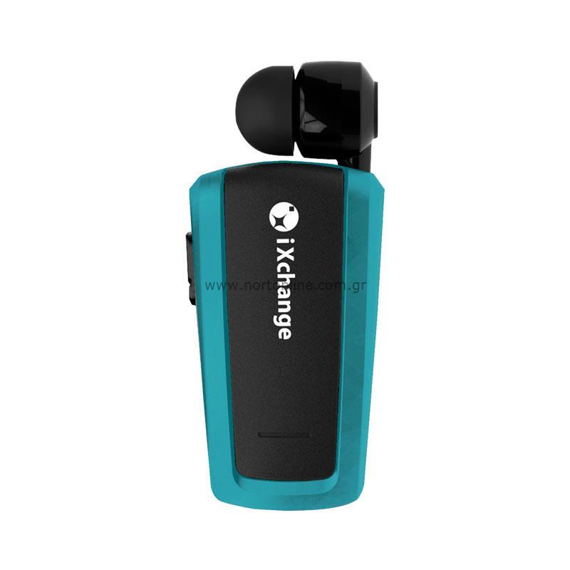 iXchange UA-25XB Petrol Mini Retractable Bluetooth Headset + Multipoint