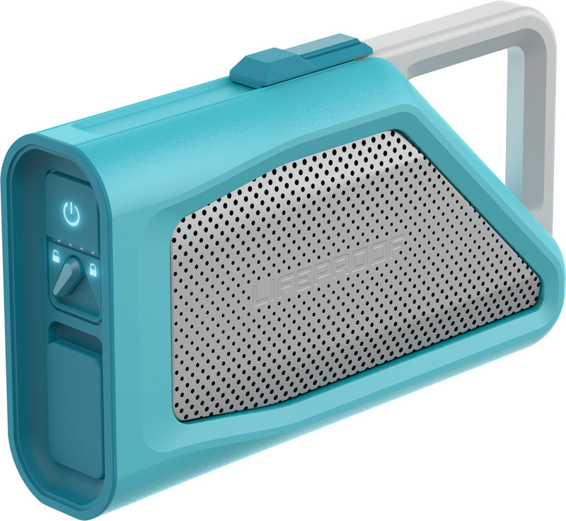 LifeProof Aquaphonics AQ9 Waterproof Bluetooth Speaker Teal (77-53869): Ασύρματο Αδιάβροχο & Ανθεκτικό Ηχείο + Speakerphone