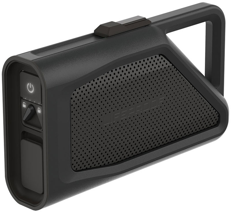 LifeProof Aquaphonics AQ9 Waterproof Bluetooth Speaker Black (77-53867): Ασύρματο Αδιάβροχο & Ανθεκτικό Ηχείο + Speakerphone
