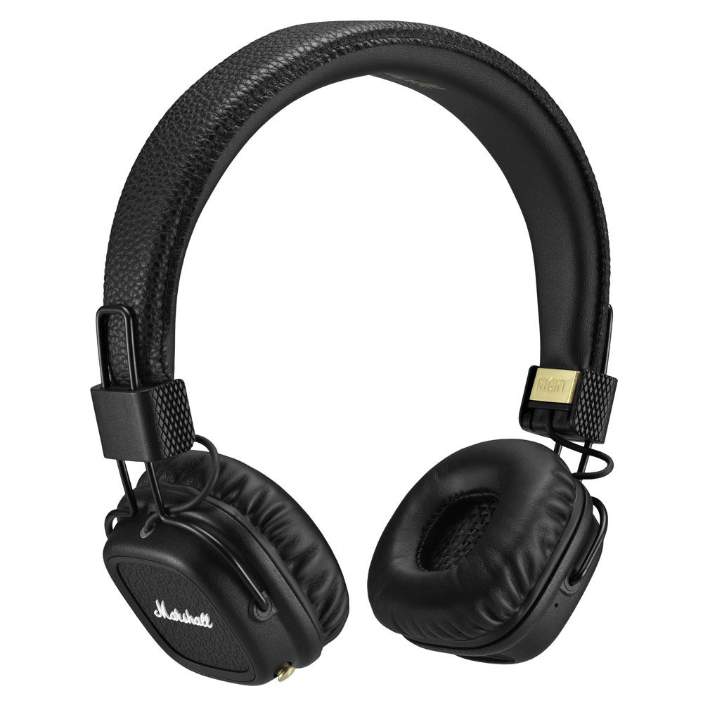 Marshall Major II Bluetooth Black Headphones | Superior Audio Performance & Ergonomics