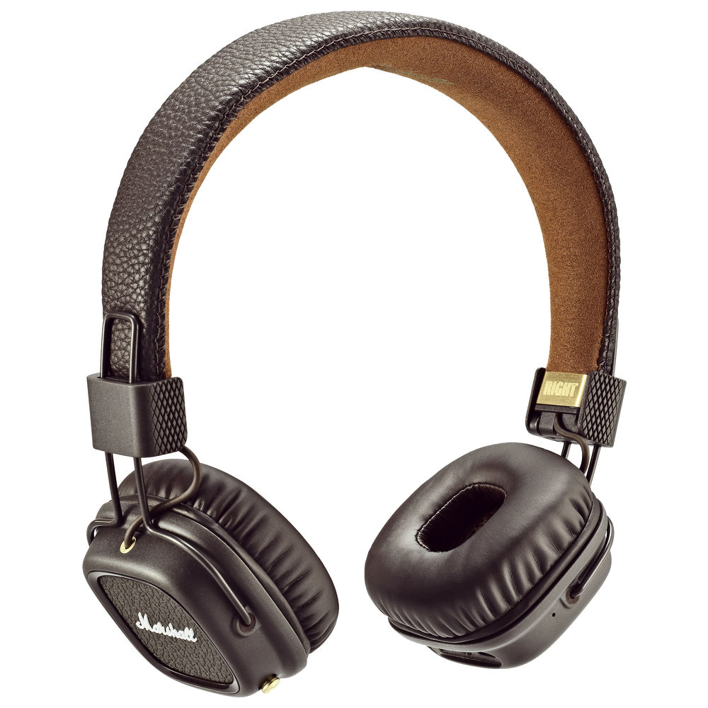 Marshall Major II Bluetooth Brown Headphones | Superior Audio Performance & Ergonomics