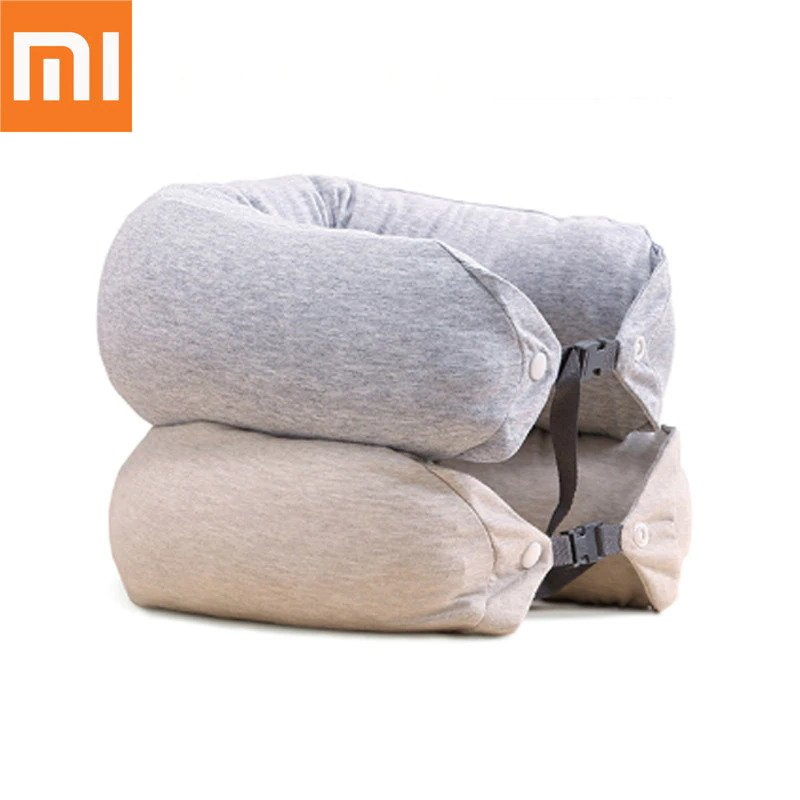 Xiaomi Mi Travel U-Shaped Pillow Mixed Gray (Μαξιλάρι ταξιδίου)