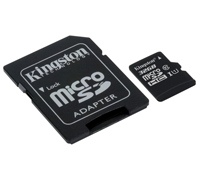 Kingston High-Speed microSDHC/SDXC 32GB Class 10 UHS-I Speed Class 1 (U1) SDC10G2/32GB