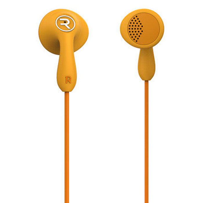 Remax RM-301 Candy Orange: Wired Earbuds Headset για Κλήσεις & Μουσική (Android / Windows / iOS)